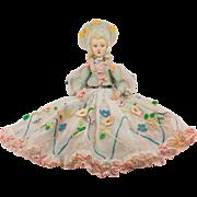 Extraordinary Lenci Boudoir Doll