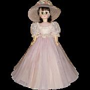 "Vintage 18 inch Madame Alexander ""Pretty In Pink"" Doll"