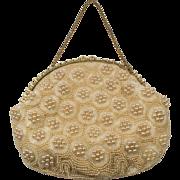 SALE Jolles Original Heavily Beaded Evening Bag Purse