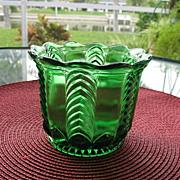 Florida aka Herringbone Spoon Holder U, S, Glass 1898