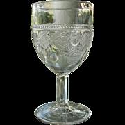 Gooseberry Goblet 1870s Non-Flint 6-8 oz.