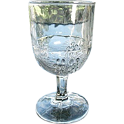Barberry  5.75 in. Goblet 1880s McKee Antique