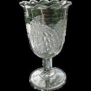 Antique Barberry Celery Vase ca. 1870