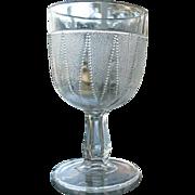 Dewdrop in Points 5.75 in. Water Goblet 1888