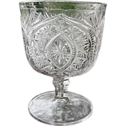 Buckle With Star Buttermilk Goblet  Bryce 1875