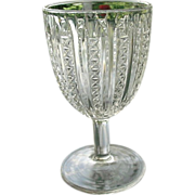 SOLD Jenkins Stars and Stripes 1899 Water Goblet #1