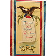 SOLD Clapsaddle GAR Decoration Day Postcard With Eagle