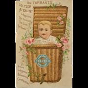 Tarrant's Seltzer Trade Card