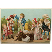 Trade Card- Great Atlantic And Pacific Tea Company - Easter