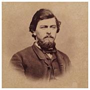 SOLD Lot of 2 Civil War Era(CWE) CDV- Dashing Gentleman and Lovely Lady