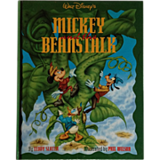 "Walt Disney's"" Mickey And The Beanstalk""-1st Edition"
