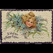 Tuck's- Brundage Little Beauty Easter Postcard