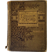 SALE The Kingdom Of Home- Beautiful Engravings And Poetry- Published 1881