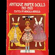 SALE Reproduction Antique Paper Dolls 1915-1920