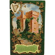 SOLD St. Patrick's Day -Irish Luck To Follow Far From Castles Of Ireland