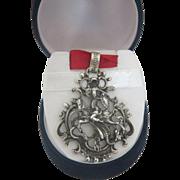 Vintage Blachian 925 silver pendant , ca. 1950