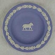Wedgwood Jasperware BLUE Pin Dish Tray RAM