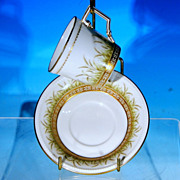 Vintage KAISER Porcelain Teacup Tea Cup & Saucer Set DEMETER - Boxed & Discontinued