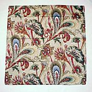 "SOLD Beautiful Women's Vintage RALPH LAUREN 35"" x 35"" Paisley & Floral Scarf"