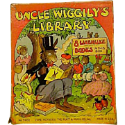 Uncle Wiggle Boxed Books Set 1939