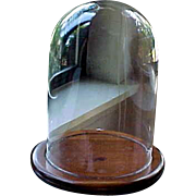 Vintage Glass Dome Large