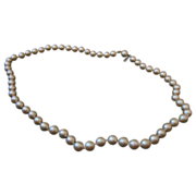 Marvella Faux Pearl Necklace