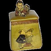 Figural Humidor Tobacco Jar