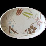 Vintage Redwing Pottery Random Harvest Serving Platter