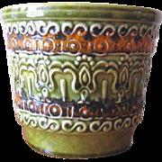 Vintage 1970's German Uebelacker Keramik Planter Pots