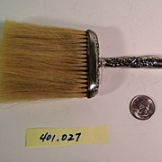 WHITING SILVER | Sterling Bonnet Brush | 19th Century