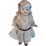 "SALE Sweet Limbach German All Bisque 4-3/4"" Doll"