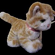 "SALE Vintage 8"" Steiff Tabby Cat Doll Pet"