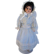 Pretty Cabinet Size AM Mold 3093 Bisque Head Doll