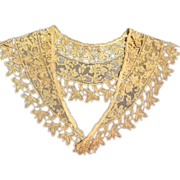 Victorian Lace Collar for Large Bisque Head Doll