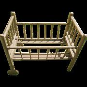 SALE Wonderful Antique Wooden Crib c1800s - TLC