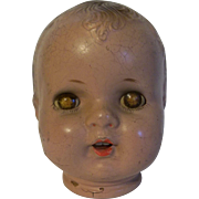 Vintage Composition Baby Head Needs Body