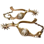 Buermann Indian Head Spurs With The Star Mark