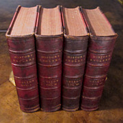 Complete Four Volume Set Of A Popular History Of England, Dated 1876