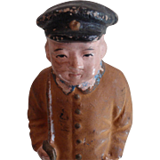 Rare Collectible Museum Doll Japanese Soldier Military Art Doll Hakata