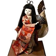 Japanese Gofun Doll Ichimatsu Doll Girl Ningyo Doll Collectible Large