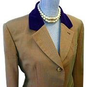REDUCED SALE 33% OFF Vintage Hermes Riding Dressage Jacket Blazer Wool Sz 44 Stunning RARE