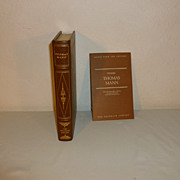 SALE Franklin Library: Leather Bound: Thomas Mann: 5 Stories