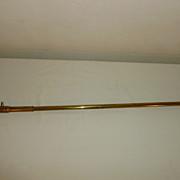 Brass Antique Crescent Gas Lamp Lighter