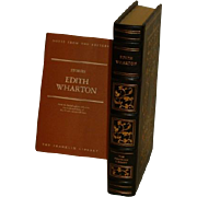 SALE Franklin Library: Leather Bound: 22 Stories by Edith Wharton