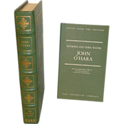 franklin Library Leather Bound John O'Hara Limited Edition