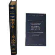Herman Melville Franklin Library Leather Bound; Billy Bud, Sailor; The Piazza Tales