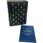 W. Somerset Maugham, Franklin Library Leather Bound Collectors Edition
