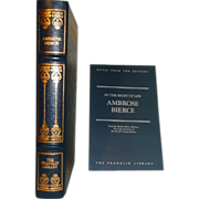 Ambrose Bierce In the Midst of Life Franklin Library Leather Bound