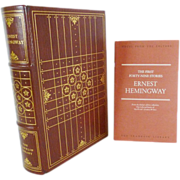 Ernest Hemingway The First Forty-Nine Stories Franklin Library
