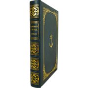SALE Robinson Crusoe by Daniel Defoe Leather Bound Easton Press